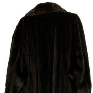 Bill Blass Outerwear | Mink Coat, Black,